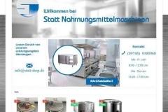 Statt-Nahrungsmittelmaschinen